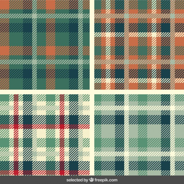tartan_patterns_set