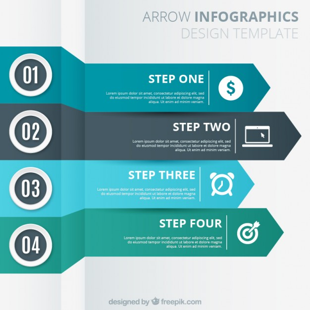 arrows_template_for_infography