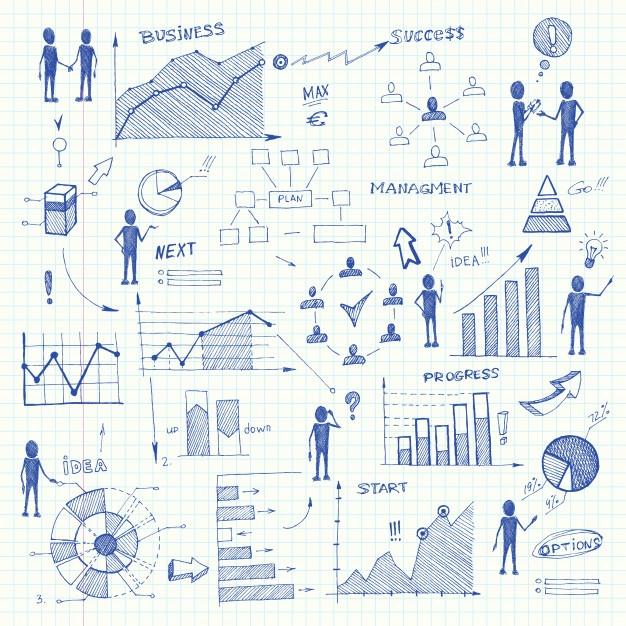 doodle_business_charts_infographics_elements