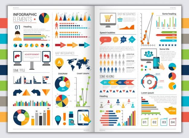 flat_infographic_set