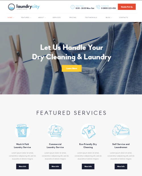 laundry_city_word_press_theme