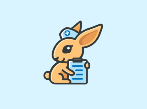 rabbit_nurse_logo_design