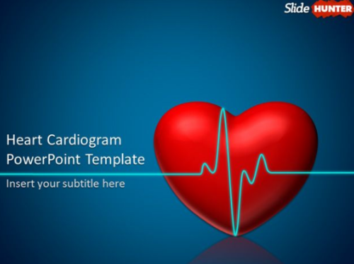 heart_cardiogram_animated_power_point_template