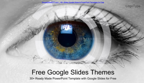 eye_scanning_technology_google_slides_power_point_template