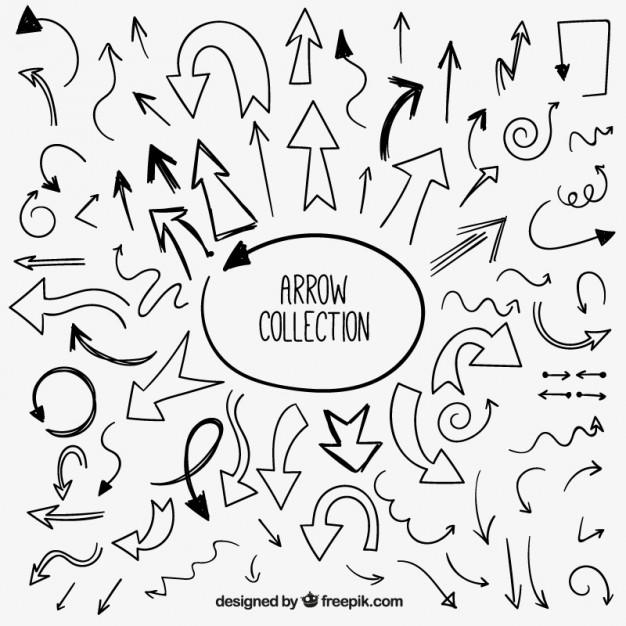 set_of_hand_drawn_arrows