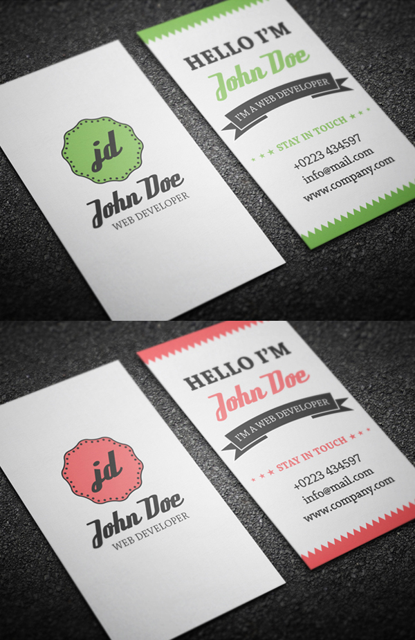 retro_personal_business_card