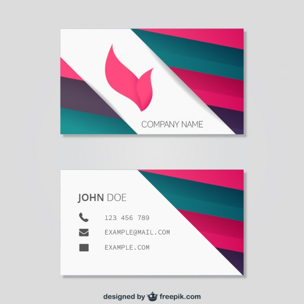 abstract_business_card_template