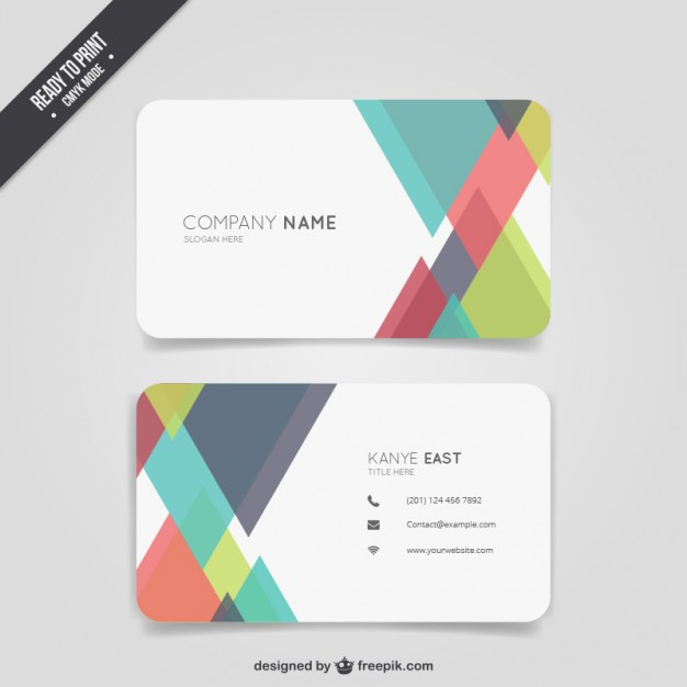 abstract_color_business_card