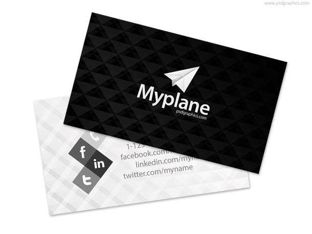black_and_white_business_card_template