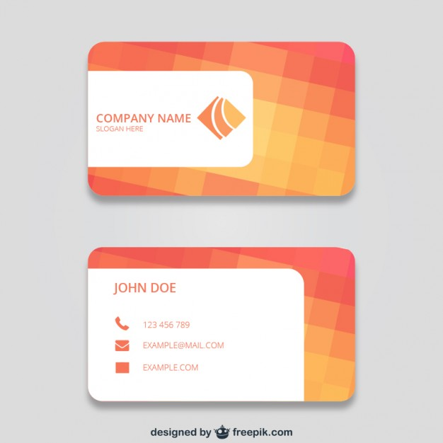business_card_with_squares