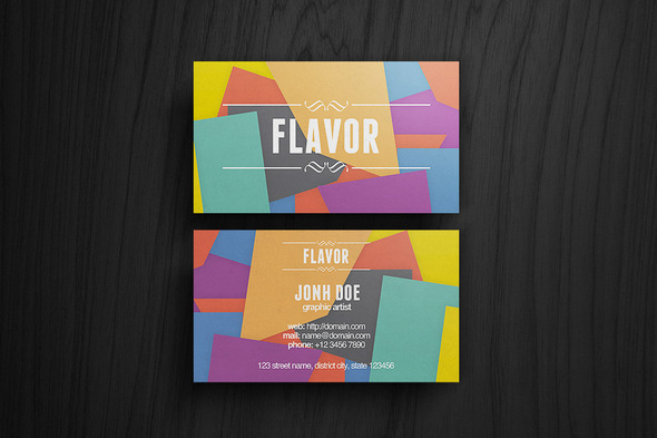 colorful_flavor_business_card