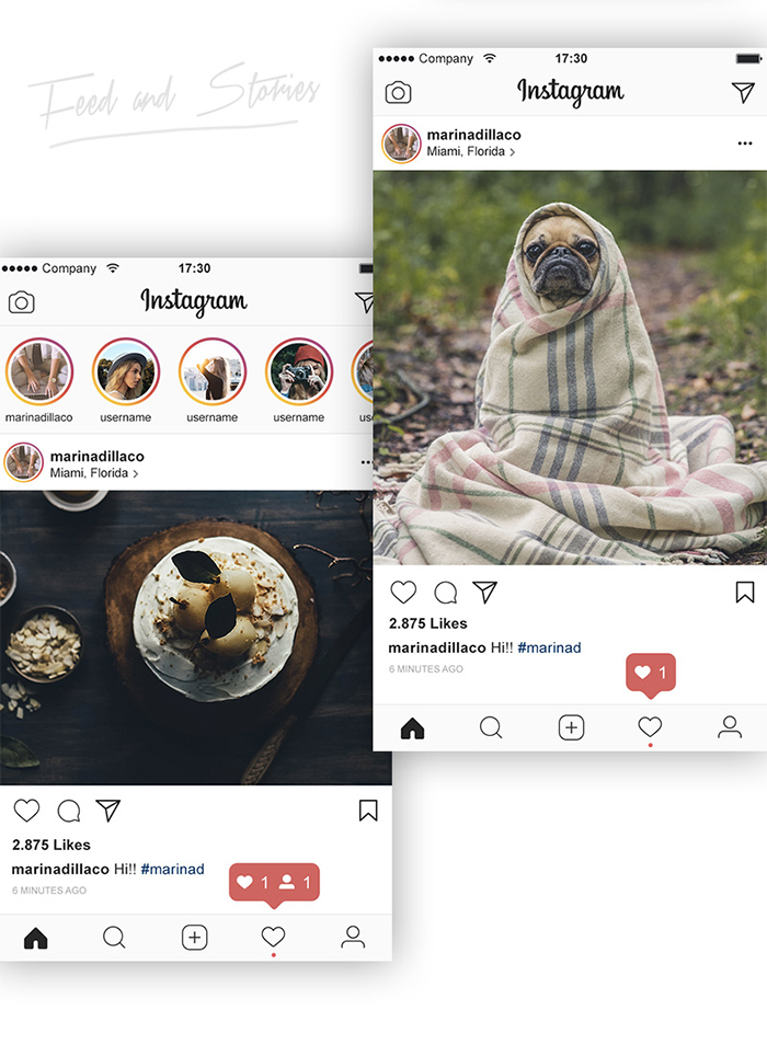 free_instagram_layout_ui_psd