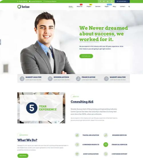brize_business_word_press_theme