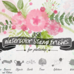 30+ Fresh Swirl & Floral Brushes for Your Project