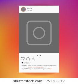 instagram_app_photo_frame_vector_for_application