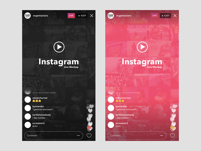 instagram_live_ios_ui_template_mockup