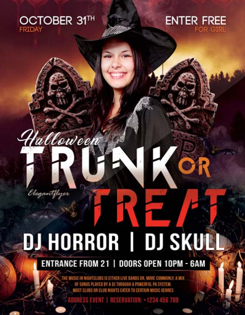 halloween_club_free_party_flyer_template