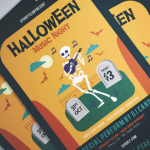 10+ Best Halloween Flyers & Invitation Templates [2018 Edition]