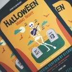 10+ Best Halloween Flyers & Invitation Templates [2018 Edition]