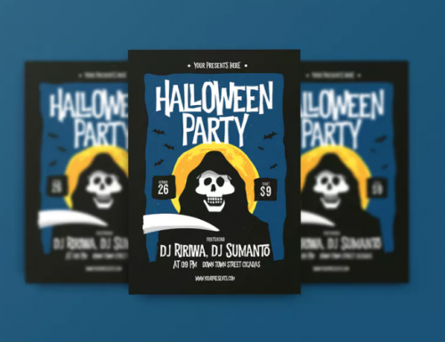 unique_fun_halloween_flyer_design