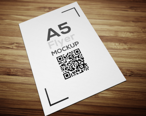 a5_flyer_mockup_free_with_woody_background