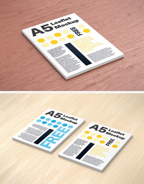 free_a5_leaflet_mockup