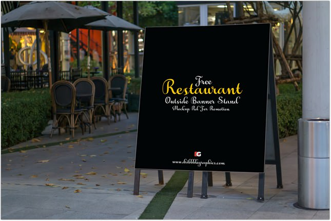 restaurant_outside_banner_stand_mock_up