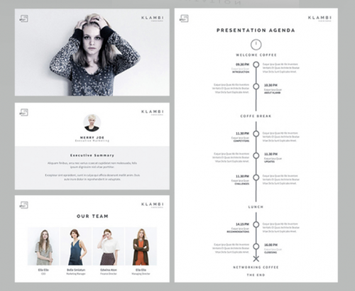 15 Adorable Fashion Powerpoint Templates Ginva