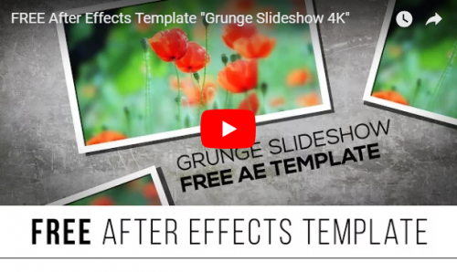 25+Absolutely Free Slideshow After Effects Templates | Ginva