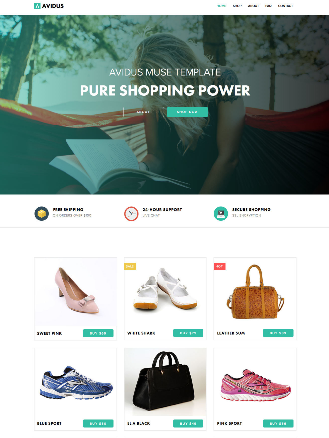 avidus_muse_template_for_creatives