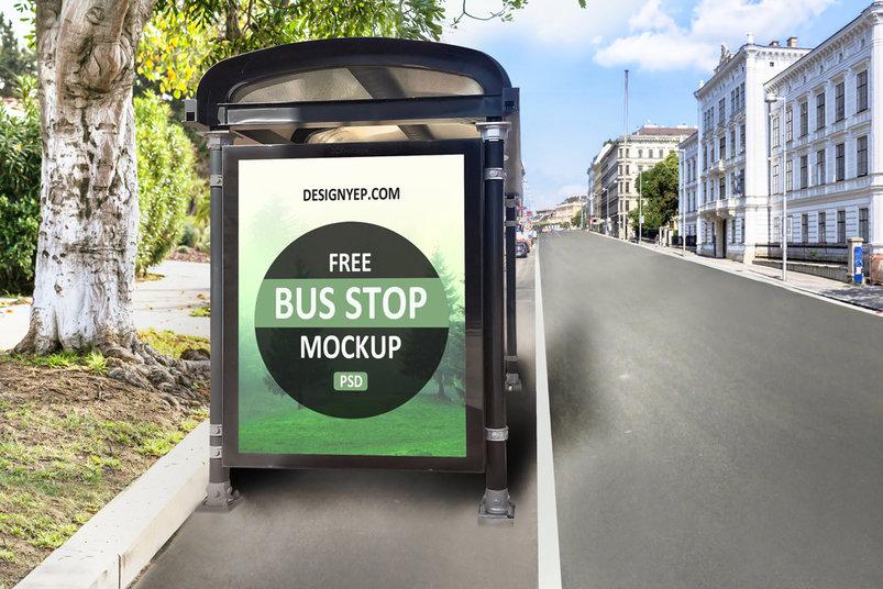 free_bus_shelter_psd_mockup
