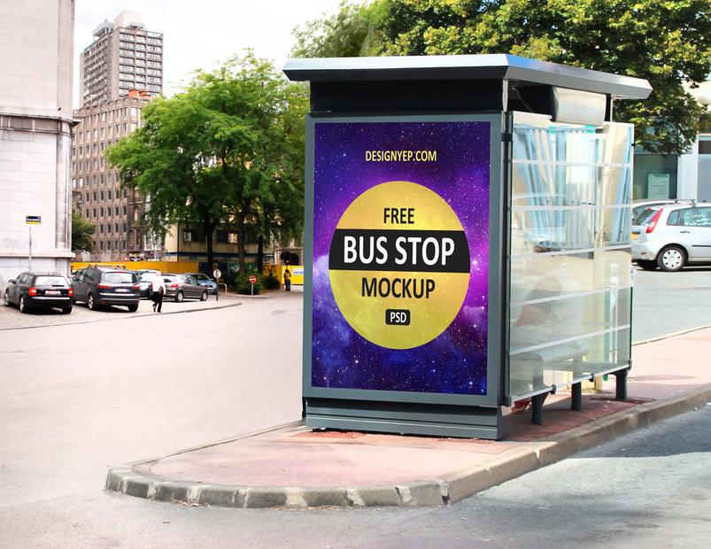 free_bus_stop_mockup_psd