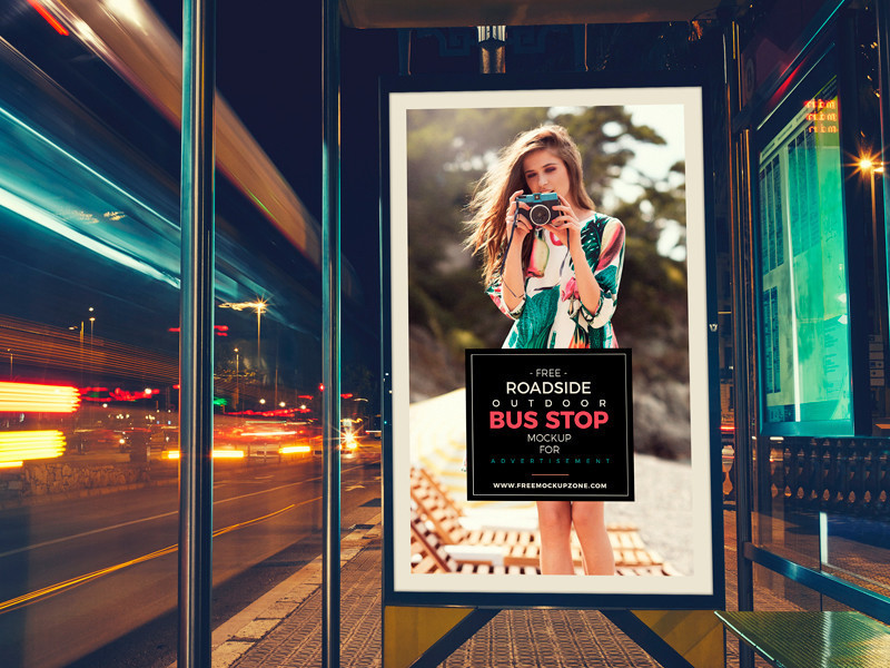 free_roadside_outdoor_bus_stop_billboard_mockup