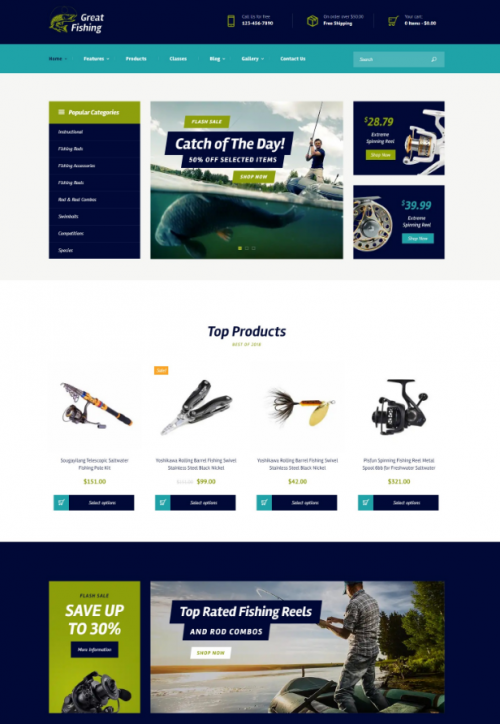 fishing_and_hunting_word_press_theme