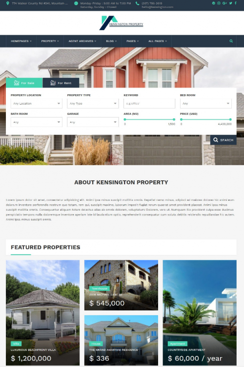 kensington_real_estate_and_property_management_word_press_theme