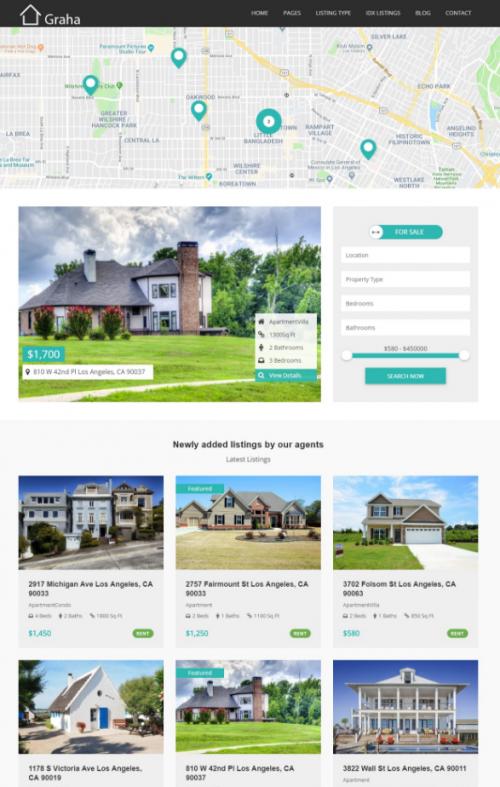 graha_real_estate_wordpress_theme