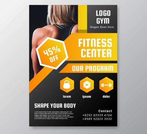 fitness_center_poster