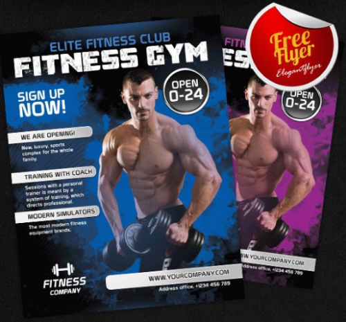 fitness_gym_free_flyer_psd_template
