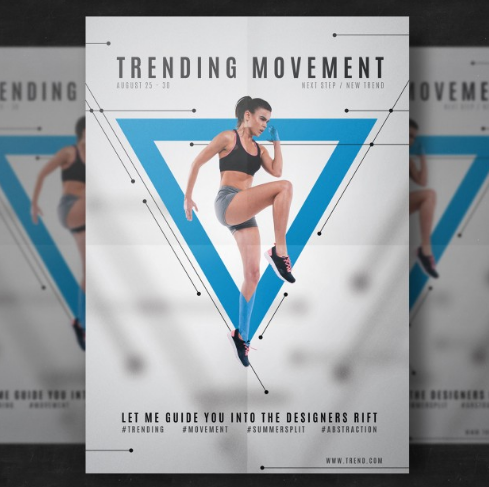 trending_movement_fitness_flyer_template_free_psd_template