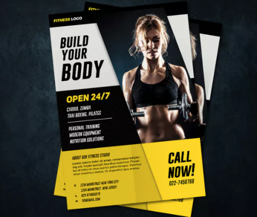 a4_professional_fitness_flyer