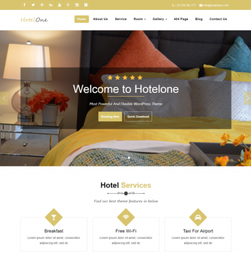 free_hotelone_word_press_theme