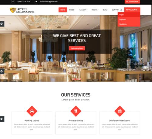 hotel_melbourne_theme