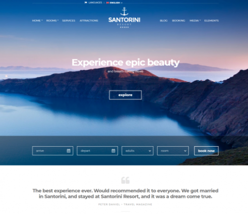santorini_resort_hotel_theme