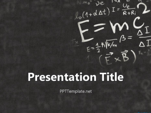 einstein_physics_ppt_template