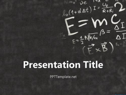 einstein_physics_ppt_template