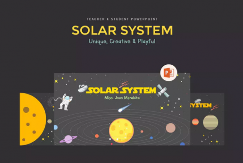 solar_system_education_presentation_template