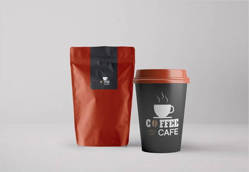 coffee_packaging_and_paper_cup_mockup