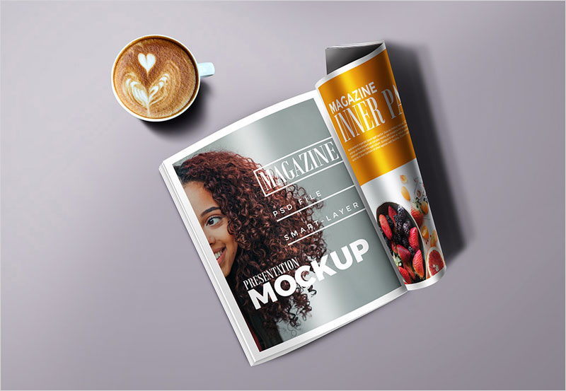 magazine_with_cup_mockup