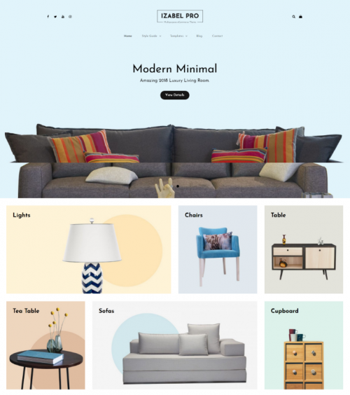 izabel_minimalist_woo_commerce_theme