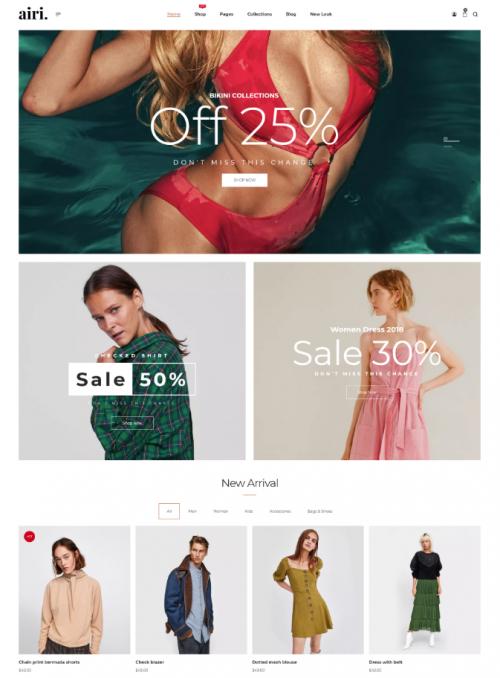 airi_clean_minimal_woo_commerce_theme